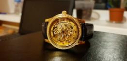 Золотые эксклюзивные часы 750 пробы публикация
