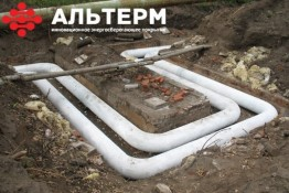 краска-утеплитель для труб АЛЬТЕРМ объявления