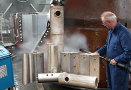 Индукционный промышленный парогенератор