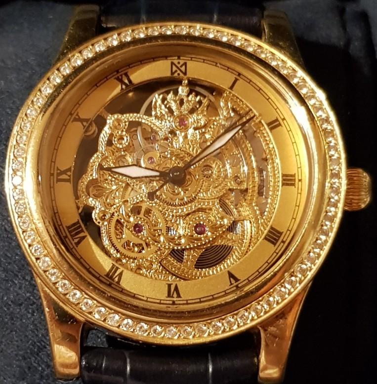 Изображение Золотые эксклюзивные часы 750 пробы