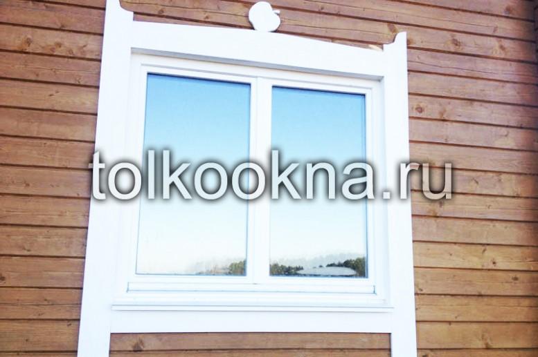 Изготовлю деревянные окна любой сложности из дуба,