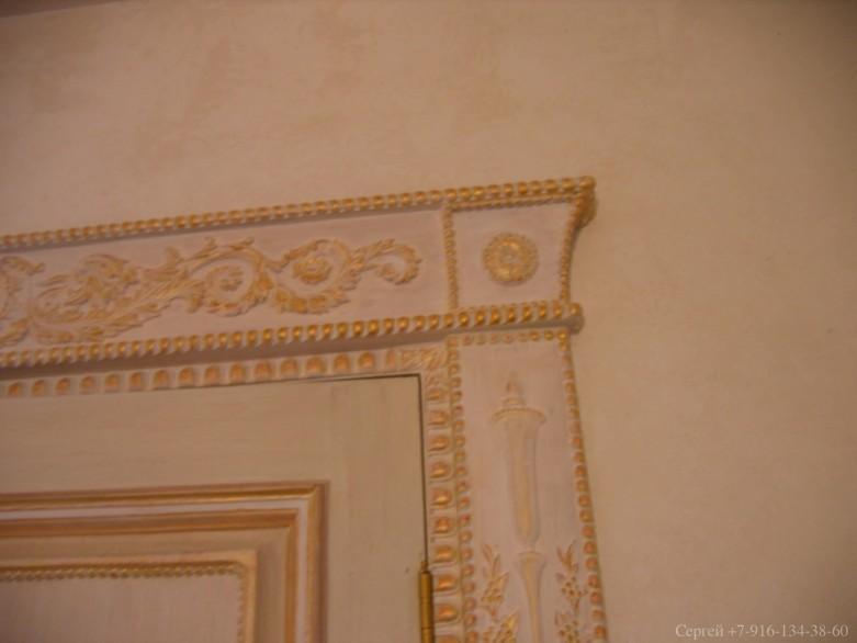 Декоративная покраска и отделка интерьера