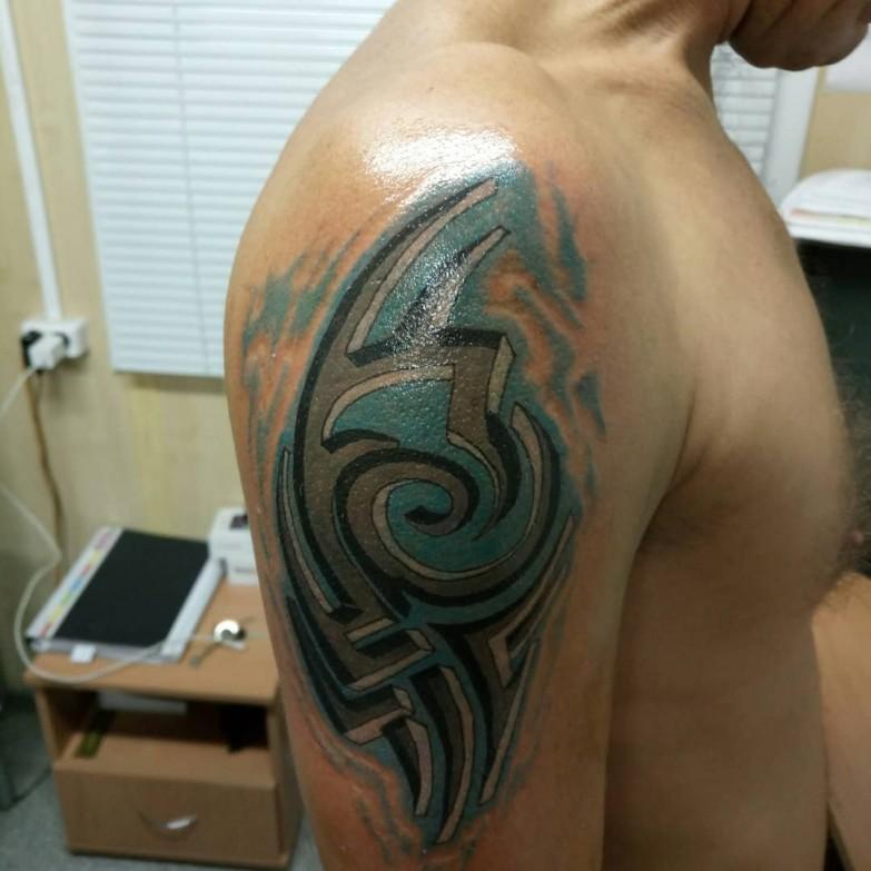Изображение Художественная татуировка